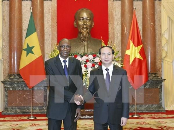 Presidente de Vietnam recibe a nuevos embajadores hinh anh 4