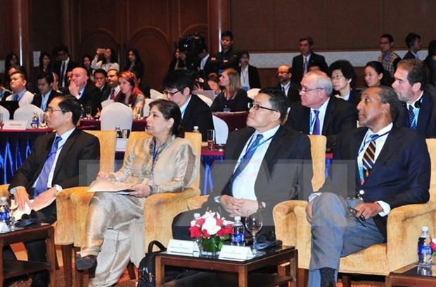 Continua en Vietnam reunion de alto nivel de ONU sobre comercio y transporte hinh anh 1