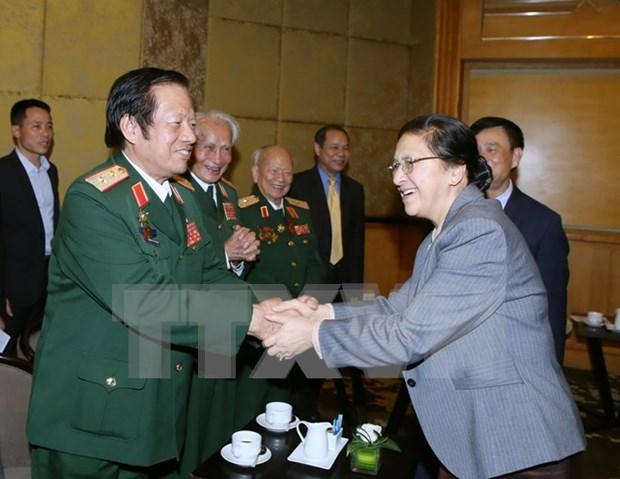 Refuerzan Vietnam y Laos lazos de amistad hinh anh 1