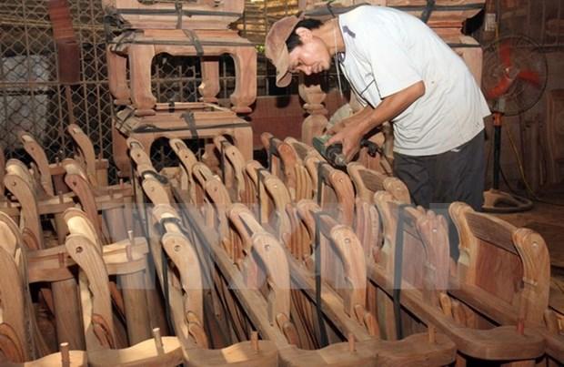 Productos madereros de Vietnam estan presentes en mas de 100 mercados hinh anh 1
