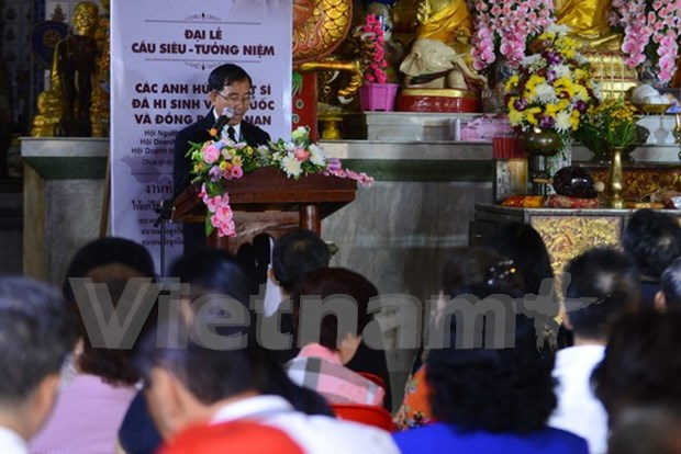 Requiem en Tailandia por soldados martires vietnamitas hinh anh 1