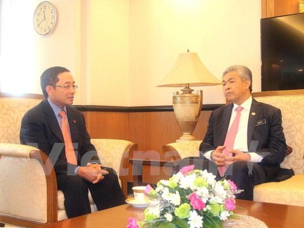 Vicepremier malasio resalta oportunidades de cooperacion con Vietnam hinh anh 1