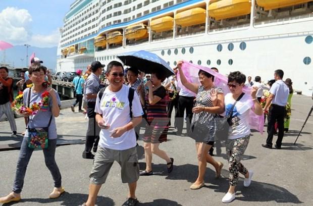 Aumenta cifra de viajeros en crucero a ciudad vietnamita de Da Nang hinh anh 1