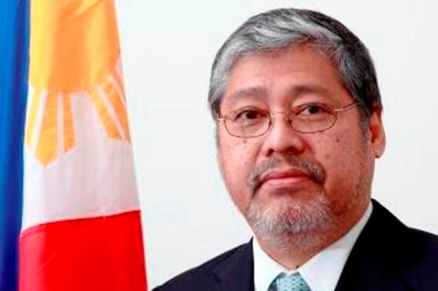 Presidente de Filipinas nombra a Enrique Manalo canciller interino hinh anh 1