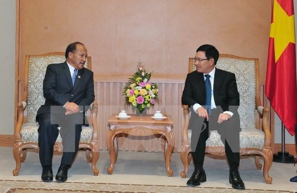 Viceprimer ministro desea fortificar la cooperacion Vietnam- Nepal hinh anh 1