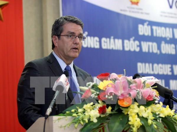 Vietnam felicita a reelegido director general de la OMC hinh anh 1