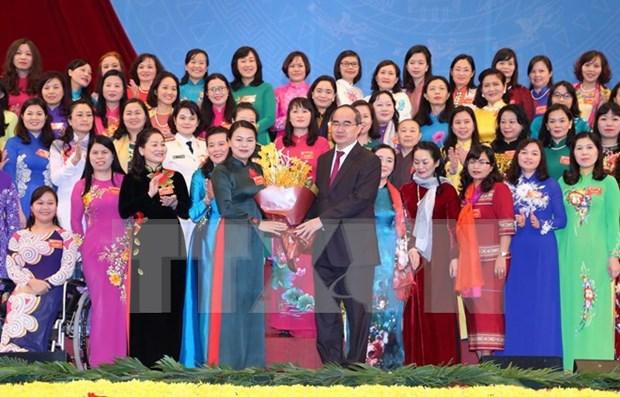 Concluye el XII Congreso Nacional de las Mujeres en Vietnam hinh anh 1