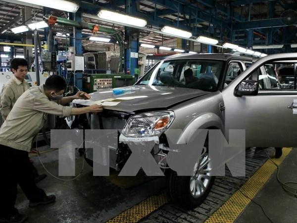 Ventas de coches en Vietnam siguen en tendencia bajista hinh anh 1
