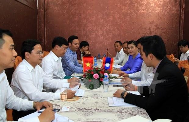 Vietnam y Laos robustecen cooperacion juvenil hinh anh 1