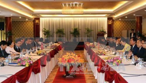 Ciudad Ho Chi Minh promueve la cooperacion con localidades laosianas hinh anh 1