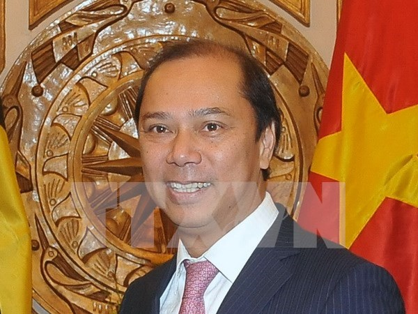 Vicecanciller vietnamita concluye visita de trabajo a UE hinh anh 1