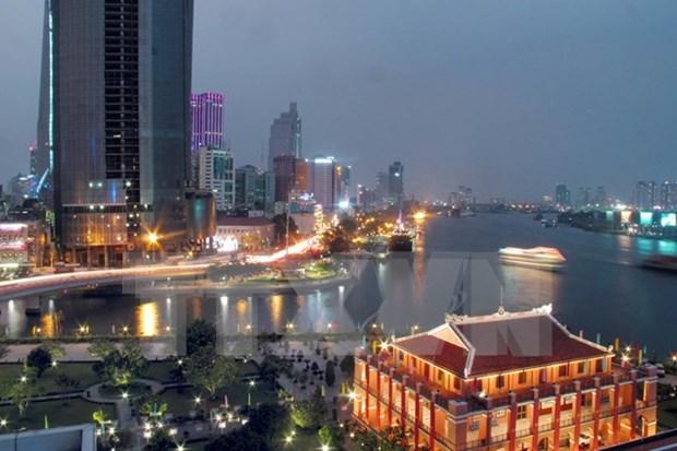 Ciudad Ho Chi Minh busca asistencia para construccion de urbe inteligente hinh anh 1