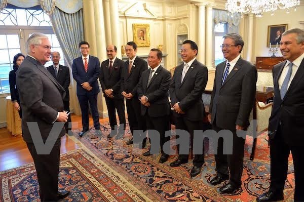 EE.UU. considera importante asociacion estrategica con ASEAN hinh anh 1