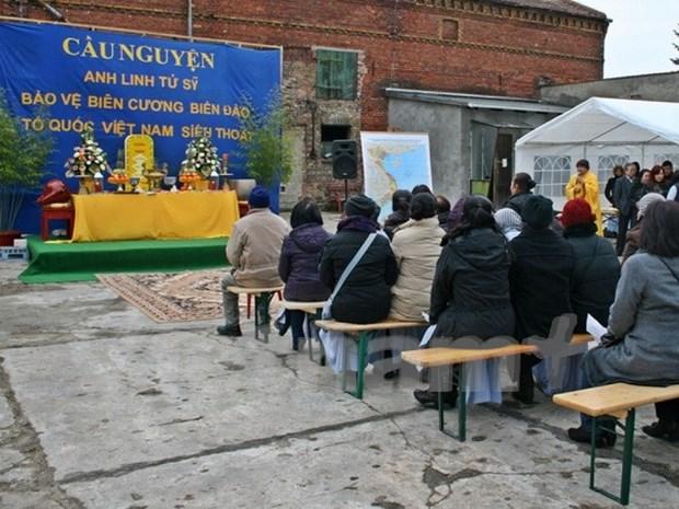 Efectuan en Alemania requiem en homenaje a martires vietnamitas hinh anh 1
