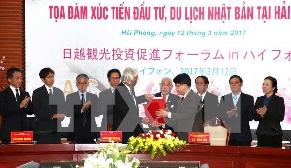 Ciudad norvietnamita llama a mas inversiones niponas en comercio y turismo hinh anh 1