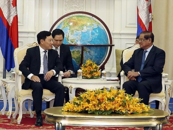 Vietnam y Camboya intensifican lazos tradicionales hinh anh 1