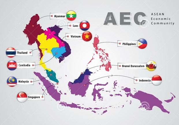 Mercancias vietnamitas buscan oportunidades en ASEAN hinh anh 1