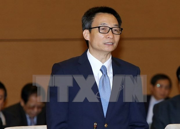 Vicepremier vietnamita subraya importancia de modelo de gestion sanitaria en linea hinh anh 1