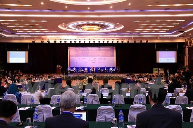 Inauguran en Laos foro regional sobre transporte ambientalmente sostenible hinh anh 1