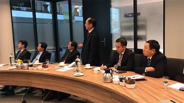 Proponen crear mecanismo de cooperacion entre policia de Vietnam y EUROPOL hinh anh 1