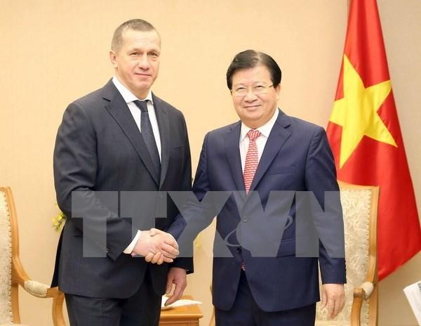 Grupos vietnamitas con grandes oportunidades para impulsar inversiones en Rusia hinh anh 1