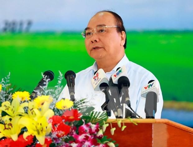 Premier de Vietnam pide la renovacion integral de sector arrocero en Delta de Mekong hinh anh 1