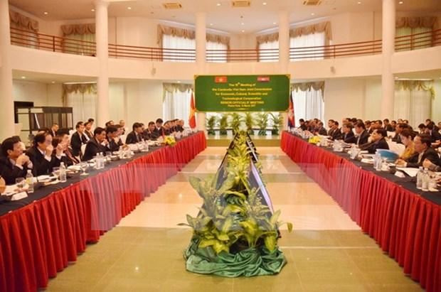 Vietnam y Camboya aspiran a incrementar intercambio comercial hinh anh 1