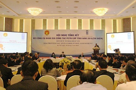 Vietnam evalua tareas de lucha contra corrupcion hinh anh 1
