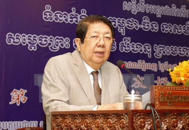 Vicepremier de Camboya nombrado como titular en funciones del Consejo de Ministros hinh anh 1