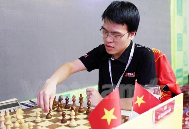 Le Quang Liem ocupa primer lugar en torneo de ajedrez HDBank hinh anh 1