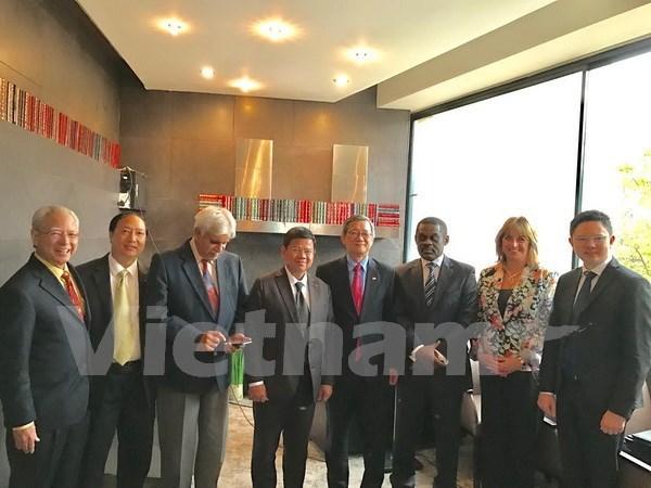 Inauguraran Feria de Empresas Africa-ASEAN 2017 en Sudafrica hinh anh 1