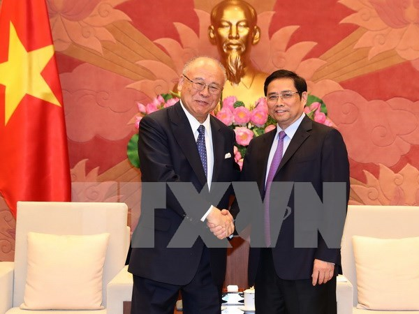 Nexos entre parlamentarios: puente impulsor de cooperacion Vietnam- Japon hinh anh 1