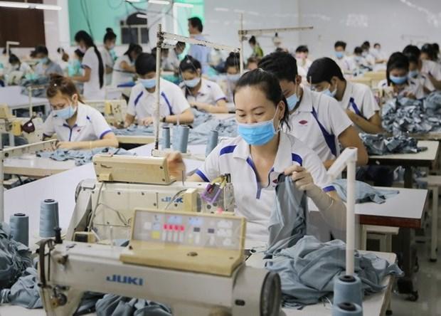 Industria de confeccion textil de Vietnam sigue desarrollando pese a dificultades hinh anh 1