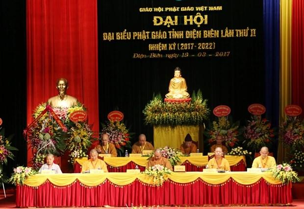 Filial en Dien Bien de Sangha budista de Vietnam convoca segundo congreso hinh anh 1