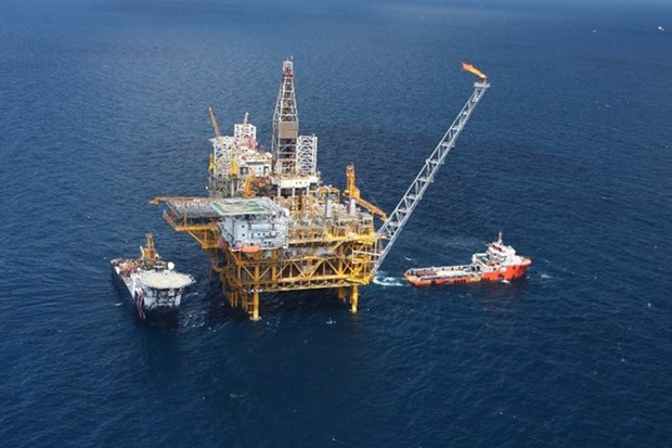 Produccion petrolera de Vietnam en primer trimestre supera metas fijadas hinh anh 1