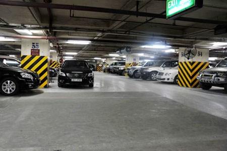 Hanoi emprendera en abril servicio de aparcamiento inteligente hinh anh 1