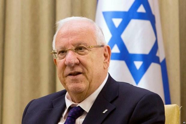 Inicia presidente israeli visita estatal a Vietnam hinh anh 1