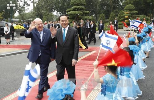 Vietnam e Israel alcanzan percepciones comunes sobre cooperacion bilateral hinh anh 1