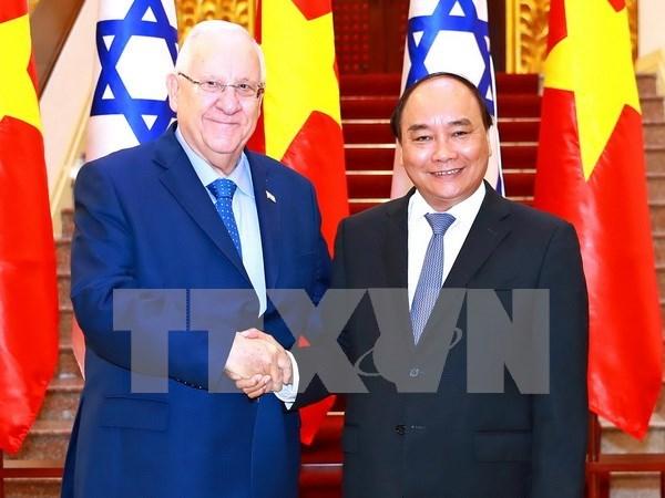 Vietnam e Israel apuestan por alcanzar pronto tratado de libre comercio hinh anh 1
