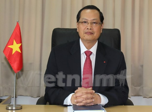 Visita de premier de Singapur a Vietnam foralecera dinamicos nexos bilaterales hinh anh 1