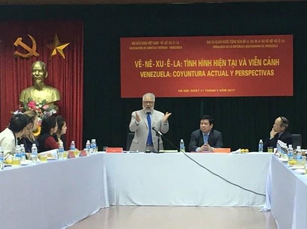 Actualizan en Vietnam situacion y perspectivas de economia de Venezuela hinh anh 1