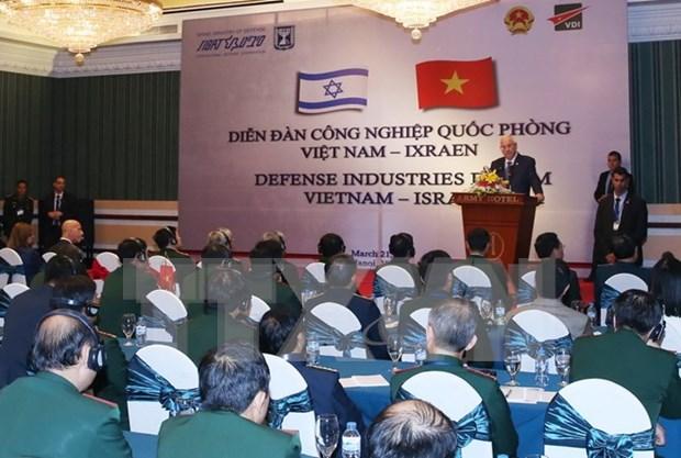 Vietnam e Israel intensifican cooperacion en industria de defensa hinh anh 1