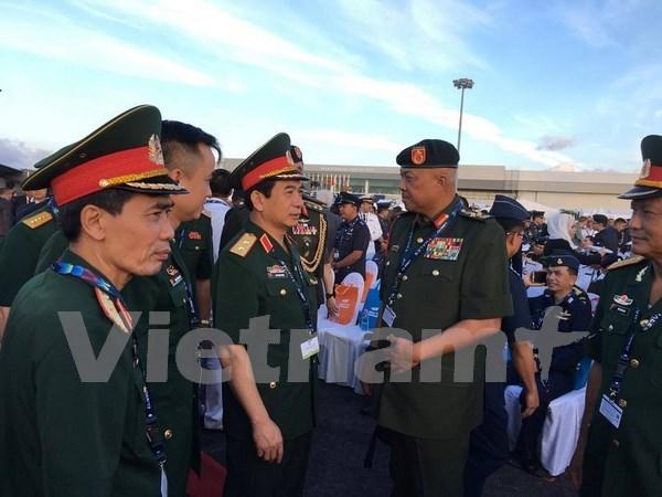 Buque de escolta de misiles de Vietnam asiste a exposicion de Langkawi hinh anh 1