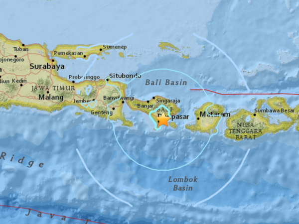 Sismo de 6,4 grados en escala de Richter sacude Indonesia hinh anh 1