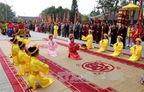 Reconoce Vietnam a culto de la Diosa Madre Au Co como patrimonio nacional hinh anh 1