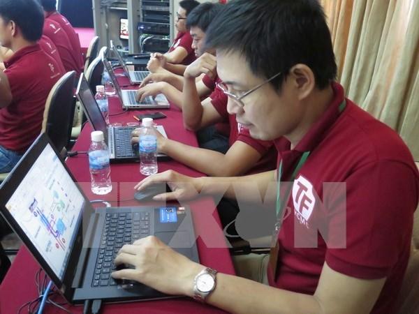 Efectuan ensayo cibernetico internacional en Vietnam hinh anh 1