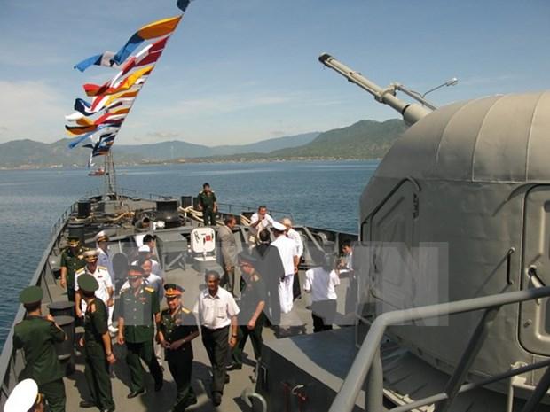 Armadas de Vietnam y Camboya realizan patrulla conjunta hinh anh 1