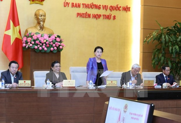 Comite Permanente del Parlamento vietnamita clausura octava sesion hinh anh 1