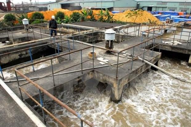 Inician construccion de planta recicladora de agua en Quang Nam hinh anh 1