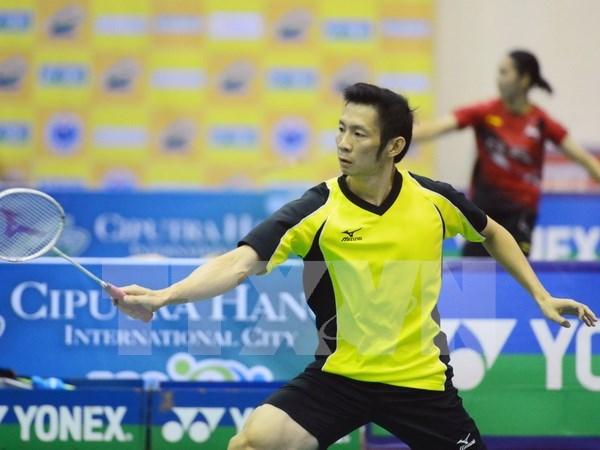 Deportistas de 16 paises disputan en torneo de badminton en Vietnam hinh anh 1